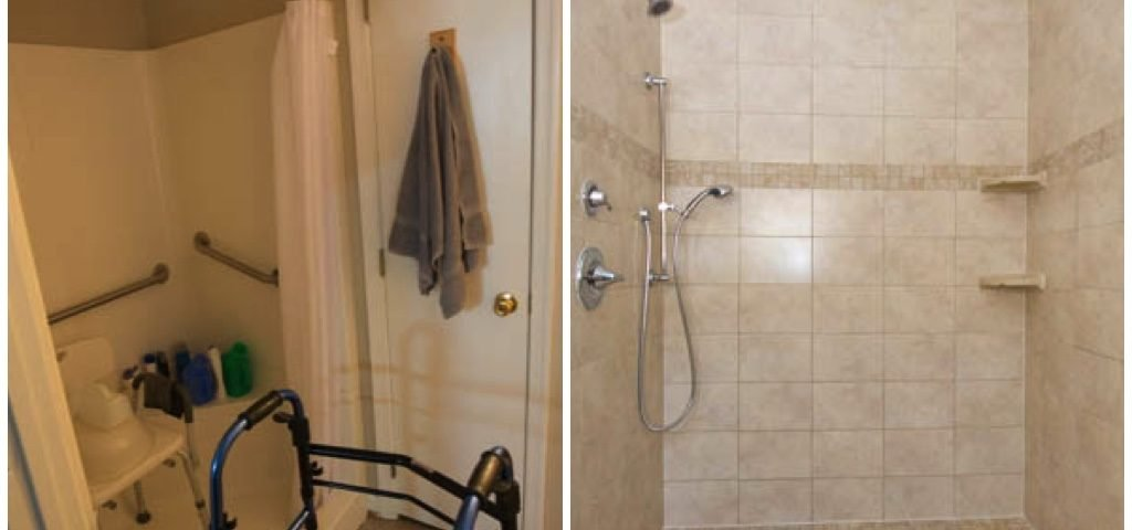 Bathroom Remodel Before After Custom Home Elements Custom Bathroom Remodel Before And After