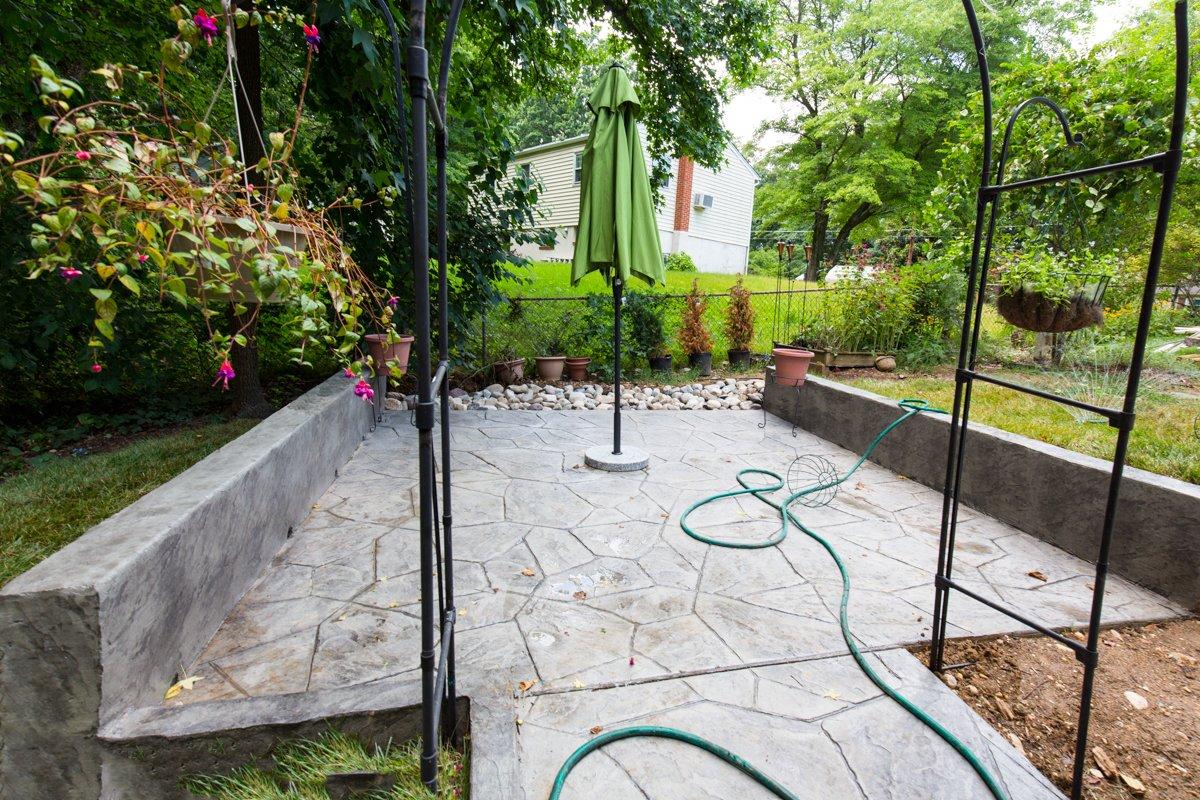 Exterior Stamped Concrete-2